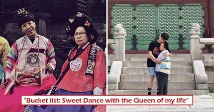 'Ikaw ang reyna ng buhay ko' Vice Ganda shows soft side as he dances with his aging mother at the Korean palace