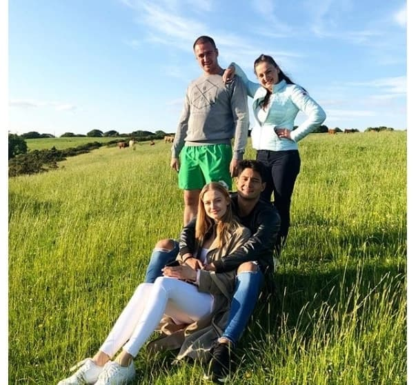 Daniel Matsunaga finally meets the family of Polish girlfriend Karolina Pisarek