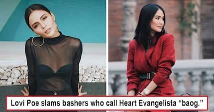 Ginalit kasi si friend! Lovi Poe turns beast mode at Heart Evangelista's bashers for calling the later 'baog'