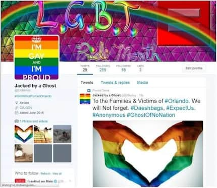 Someone Hacked ISIS Twitter Accounts and Posted a LOT of Gay Stuff