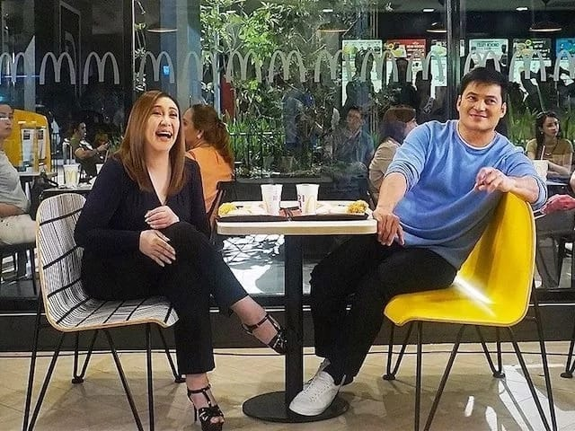 May holding hands ng ganap! Netizens went crazy over Sharon Cuneta and Gabby Concepcion's new photos