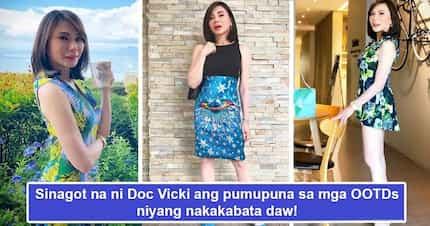 Di-matatawaran ang class ni Doc! Vicki Belo responds to critics of her 'nakakabata' OOTD's in the classiest manner