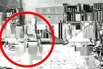 Spooky video caughtmoment when ghostly child opens front gate and walks inside house