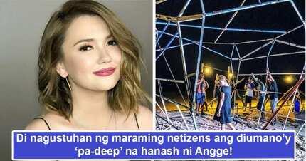 Nag-iinarte daw! Netizens slam Angelica Panganiban for posting 'pa-deep hanash' on IG