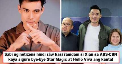 Tagasalo ang Viva ng mga nasa laocean deep? Xian Lim leaves Star Magic for Viva Agency and netizens draw one conclusion about Xi's move