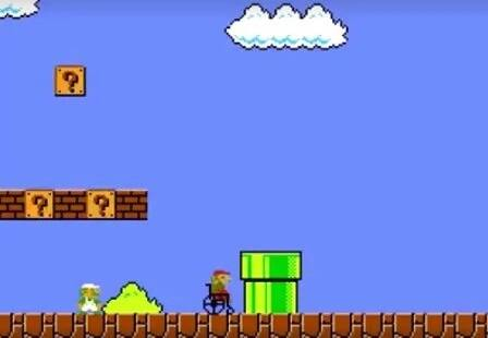VIDEO: Super Mario in a wheelchair?