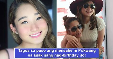 Dakilang ina! Pokwang's heartfelt birthday message for daughter gives public a glimpse of the kind of mom the actress really is