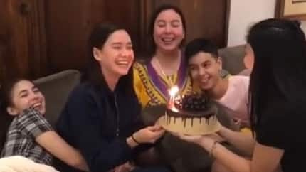Erich Gonzales receives touching birthday surprise from Barretto family