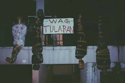 Unique 'Wag Tularan' Halloween decorations stun onlookers in QC