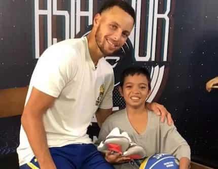 'Batang Stephen Curry' ng Pilipinas, nakita na ang idol niya