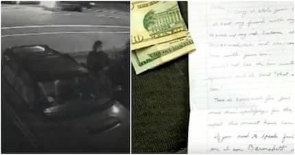 A Woman's Stolen Car Was Returned With Money And THIS Apology Note