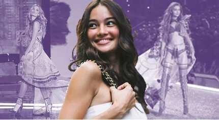 Ang galing niya! Kelsey Merritt becomes first Filipina to walk in the Victoria's Secret Fashion Show