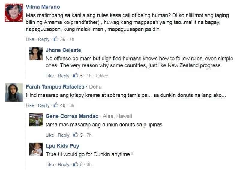 Netizens slam Krispy Kreme for alleged 'racist' attitude towards Pinay