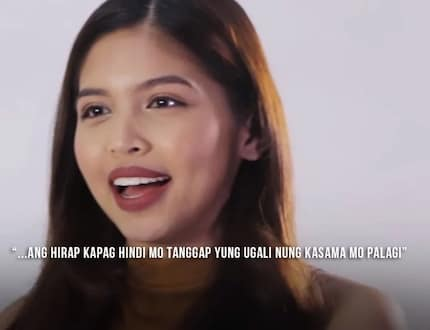 """""""It's not every day that you get to work and be with someone who accepts you for who you really are."""" said Maine Mendoza about their relationship"""