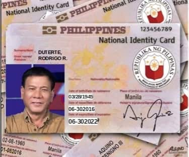 Duterte to implement nationwide ID system?