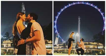Ang romantic ng proposal! AiAi delas Alas' son Sancho Vito is now engaged to model girlfriend