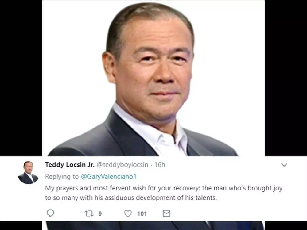 Maraming celebrities ang nag-react sa rebelasyon ni Gary Valenciano tungkol sa kanyang cancer
