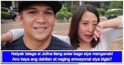 Halo-halong emosyon! Jolina Magdangal gets emotional a few days before giving birth to Vika