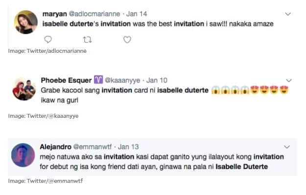 Isabelle Duterte's LED debut invitations earn both praise and ire of many Filipinos