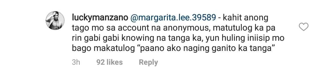 May nakaaway na naman na netizen! Luis Manzano hits back on Jessy Mendiola's basher