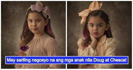 Yayamaning mga bata! Kendra and Scarlett Kramer are already businesswomen