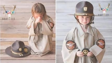 3-yr-old lost father in line of duty, 2 years later, she honors him with this tear-inducing prayer..