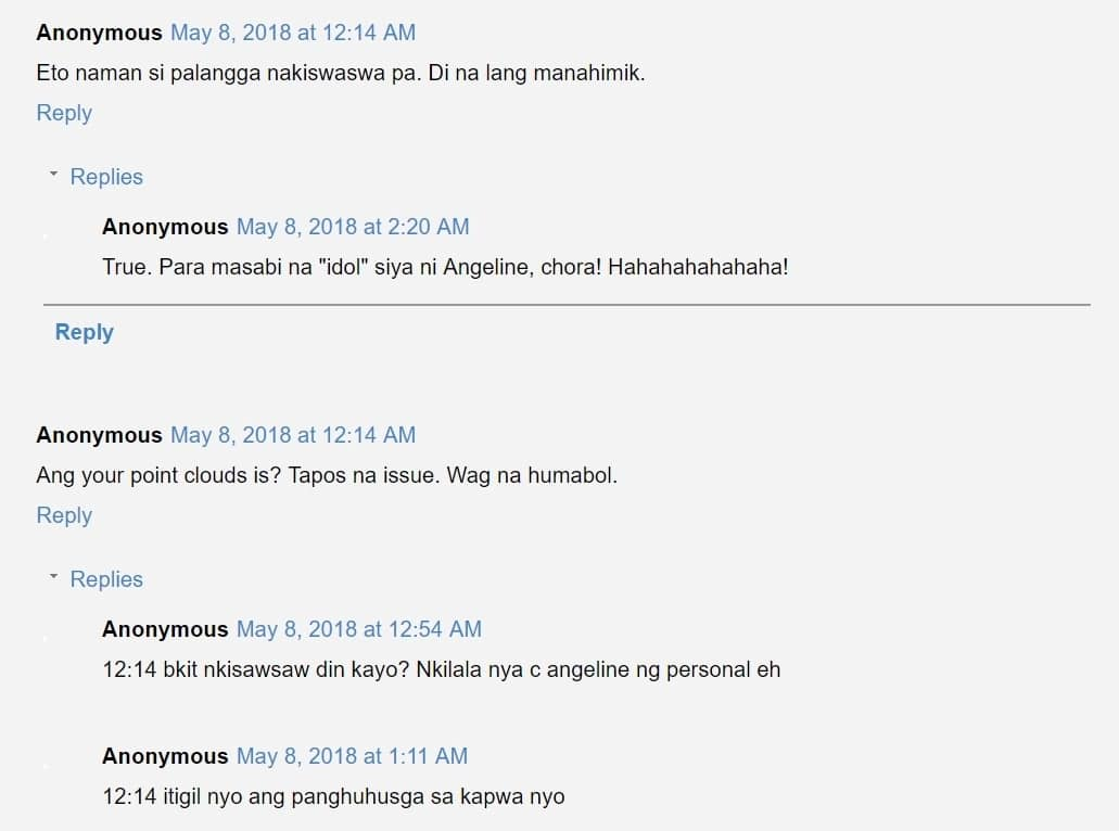 Hindi raw siya nakikisawsaw! Claudine Barretto speaks up on Angeline Quinto's issue with Sarah Geronimo