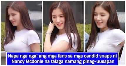 Pinag-uusapan sa social media ang totoong hitsura ni Nancy Mcdonie sa mga litrato na kumalat