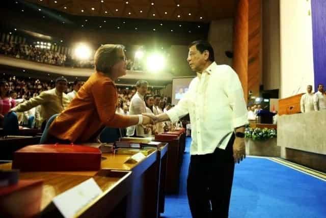 Cayetano calls De Lima 'biased, polluted'