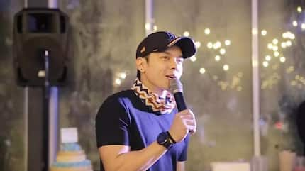 Carlo Aquino feels he has a place in showbiz because of who came to his 'debut'