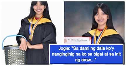 Anak ng OFW, nagtinda ng karyoka at iba pang merienda hanggang sa nagtapos bilang 'cumlaude'
