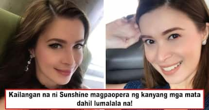 Di na siya nakakakita nang mabuti? Sunshine Cruz's emergency eye surgery in the U.S. sends much alarm as to the actress' health condition