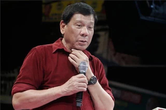 Duterte: 5-6 no more