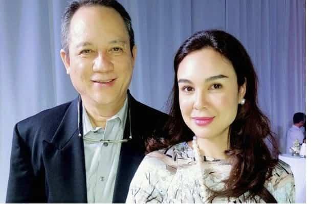Viral video ni Gretchen Barretto habang naglalambing kay Tonyboy Cojuangco