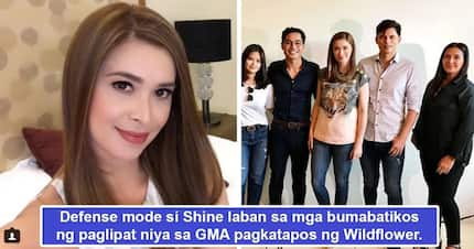 Di daw siya 'exclusive!' Sunshine Cruz shuts down negative comments made by netizens on her move to work with GMA