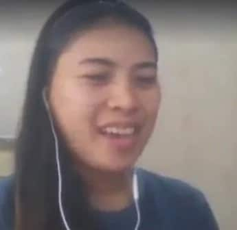 Woman composes song to support President Duterte