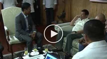 Pac-Man meets The Punisher! WATCH Pacquiao visit Duterte in Malacañang