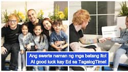 Tinuruan pa raw mag-Tagalog! Team Kramer spends time with Ed Sheeran before the concert