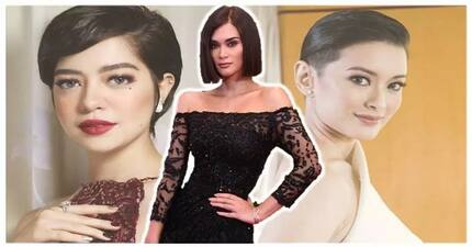 21 Gorgeous celebrities na kering-keri din ang short hair cut