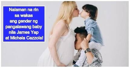 Boy or girl? James Yap and Michela Cazzola finally reveal gender of their 2nd baby