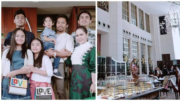 Tunay na mayaman! Video of Jinkee Pacquiao and family showing their luxury hotel in Singapore went viral