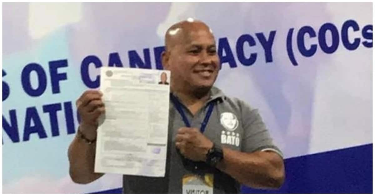 'Itaga mo sa Bato', campaign slogan of Bato Dela Rosa; Files COC for Senator