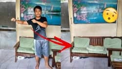 This netizen just convinced us to buy his invisibility cloak – check out how effective it is!