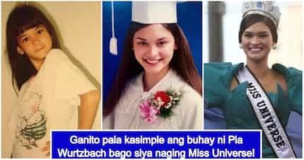 Simpleng buhay noon! Pia Wurtzbach's life before winning Miss Universe