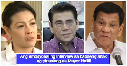 Grieving daughter of slain Mayor Halili breaks her silence on Duterte's accusation against her dad