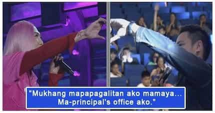 """""""Buhay na buhay ang Aldub Nation!"""" Vice Ganda, nag ala Yaya Dub sa It's Showtime"""