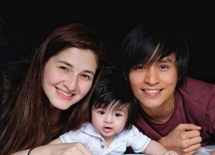 Taekwondo champ Japoy Lizardo, meron ng cute na cute na baby boy