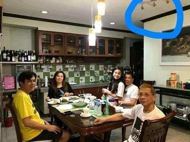 Basher accuses President Duterte of staging sweet Kitty Duterte photo for publicity; Netizens react to allegation