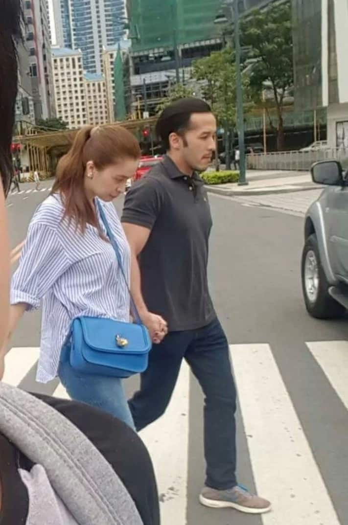 Sunshine and Macky together at Bonifacio Global City