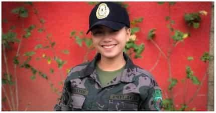 """""""PNP-Pulis Na Pretty!"""" Nagviral ang isang police woman dahil sa angking ganda"""